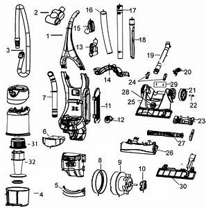 Wiring Diagram For Bissell Vacuum Cleaner