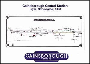 Gainsborough Central  Signal Box Diagram  1933