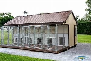 Commercial dog kennels dog kennels for sale horizon for Portable dog kennel building