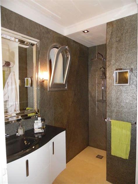 bathroom with slate