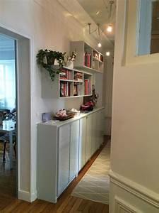 Meuble Couloir étroit : meuble rangement pour couloir ~ Teatrodelosmanantiales.com Idées de Décoration