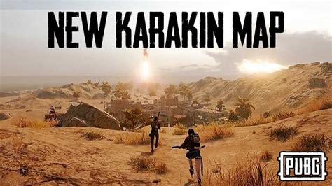 pubg mobile  add karakin map    major update