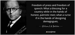 William J. H. B... Country Freedom Quotes