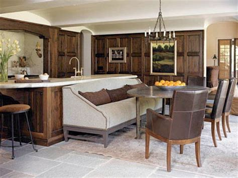 kitchen island with banquette space savers built in island banquette the room 5196