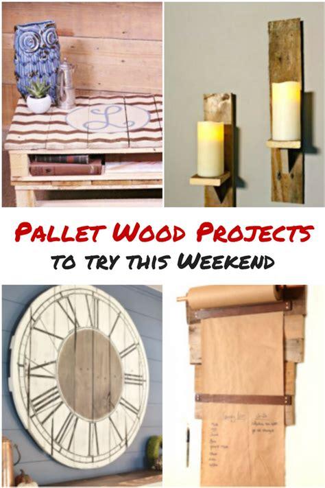 pallet wood project ideas    weekend diva  diy