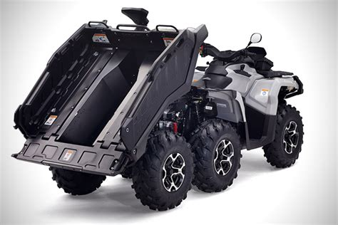 6 X 6 X 6 X 6 by Can Am Outlander 6x6 Atv Hiconsumption