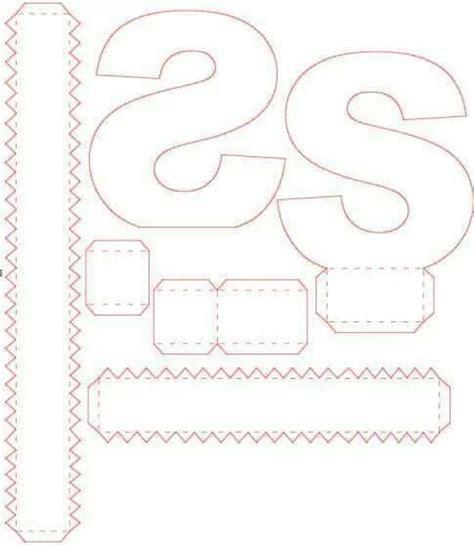 letras em 3d moldes cereja feminina