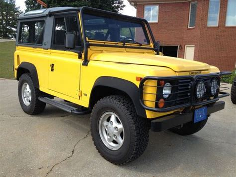 Buy Used 1997 Land Rover Defender 90 Hard Top / Cloth Top
