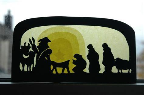 Fensterbilder Weihnachten Vorlagen Krippe by Fensterbild Krippe Fensterbilder Fenster