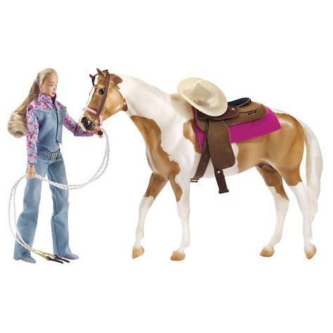 breyer  favorite horse lets  riding western set