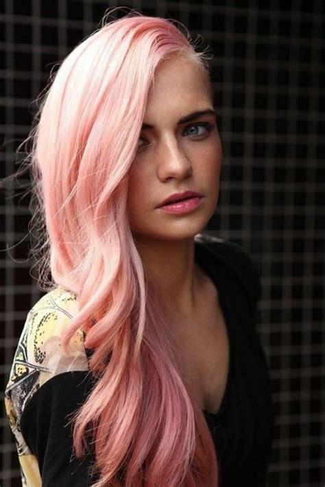 haare mit rosa coole haare 100 faszinierende ideen