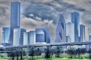 Houston Skyline White