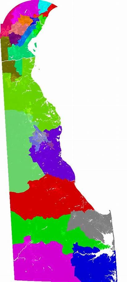 Senate Delaware District Map Current Redistricting Bdistricting
