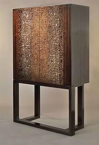 African Blackwood Liquor Cabinet