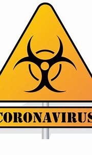 Corona Virus Warning Sign - Free Clip Art For Download