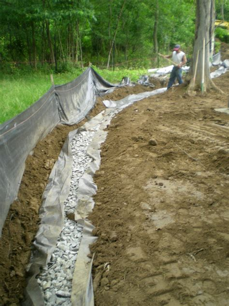 Backyard Drainage by Home Drainage Systems Waterproofing Femia Landscaping