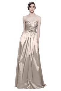 gold chagne bridesmaid dresses grocery gourmet food