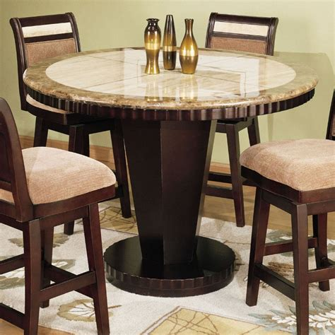 Round Counter Height Kitchen Tables, High Top Kitchen