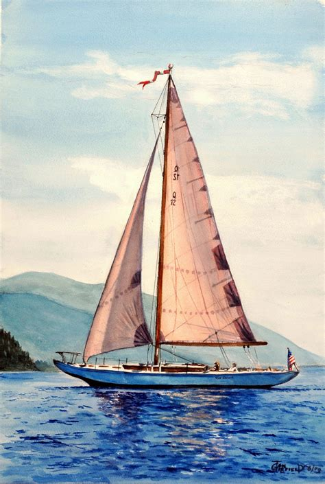 Pictures Of Sailboats by Classic Sailboat Trg Prints