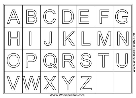 alphabet coloring pages   print