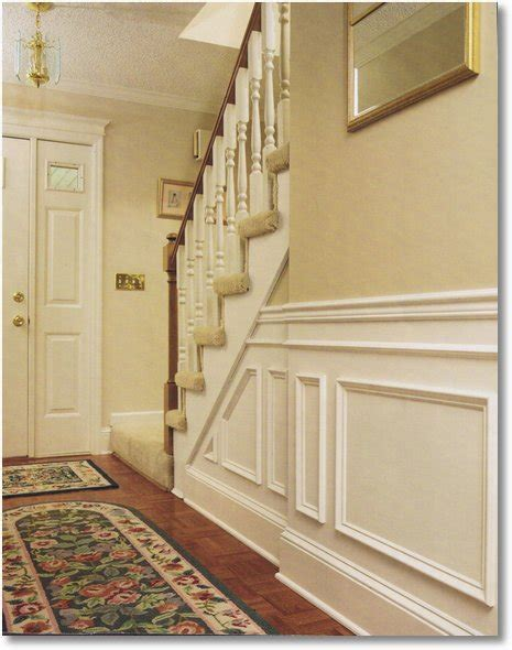 install  traditional chair rail  wainscot