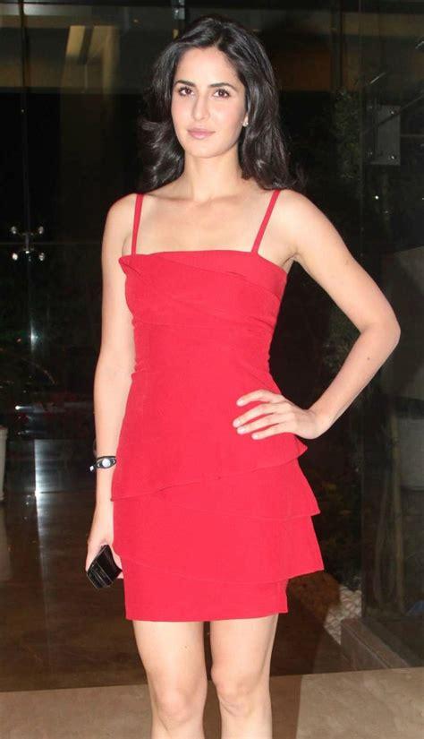 atozimages katrina kaif  red dress photo gallery