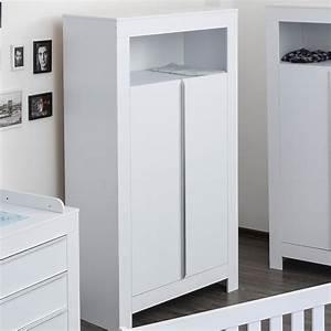 Kleiderschrank 2 Türig Weiß : kleiderschrank 2 t rig felix in reinem wei baby m bel ~ Indierocktalk.com Haus und Dekorationen