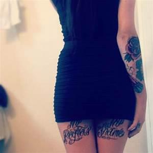 15 Sexiest Back Of Thigh Tattoos For Women  U2013 Tattoosdesignidea