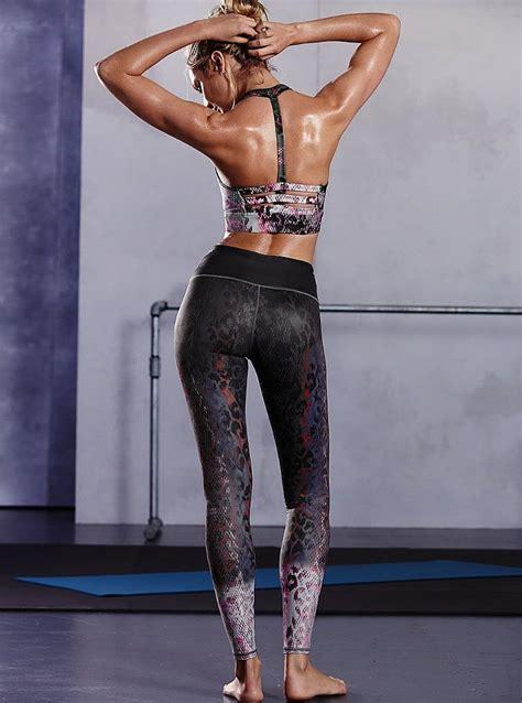 victorias secret fall  sports workout  feat candice swanepoel nawo