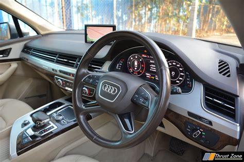 Audi Q7 India Interior Photos Brokeasshomecom
