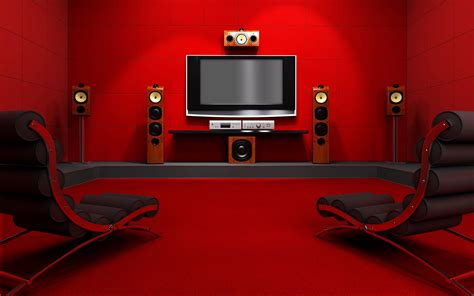 tv room full hd wallpaper  background image