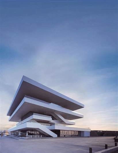 Architecture Animated Transforming Gifs Surreal Buildings Axel