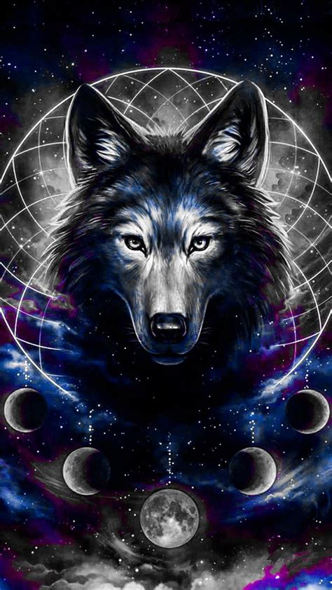 Wolf Drawing Wallpaper by Wolf Drawing Wallpaper By Wildwolf0524 Fe