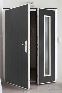 Porte entre ouverte bois urbantrottcom for Porte de garage coulissante et porte d interieur double vantaux