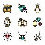 Icon Jewelry Svg Icons Library Packs Vector