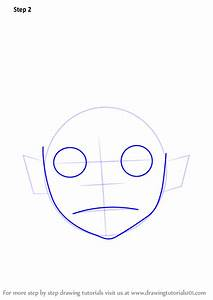 Learn How To Draw 2d From Gorillaz  Gorillaz  Step By Step   Drawing Tutorials