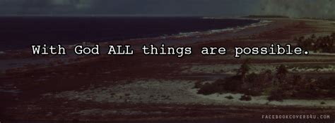 God Quotes For Facebook Cover