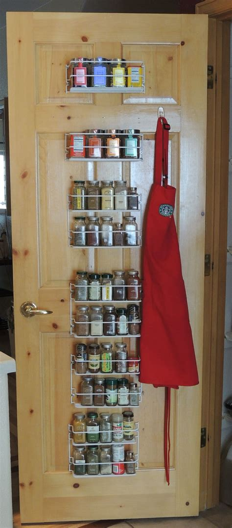 Back Of Door Spice Rack by Spice Rack On The Back Of My Pantry Door Home