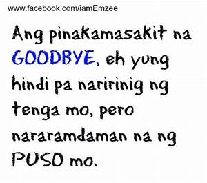Goodbye Quotes | Puso Quotes
