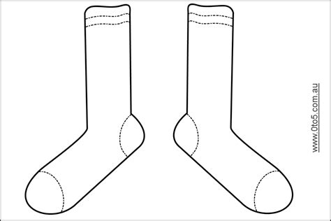 sock template it s sock day students will wear their craziest socks fox in sock theme printables