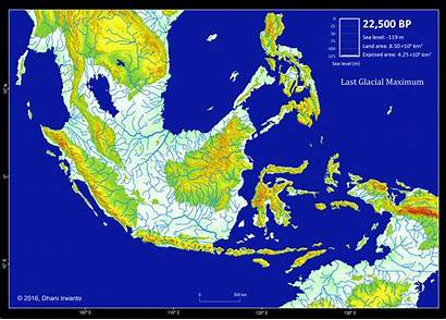 Indonesia Zaman Asia Land Atlantis Glacial Sundaland