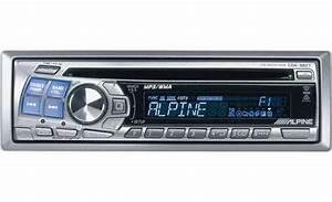 Alpine Cda Mp3  Wma Receiver At Crutchfield