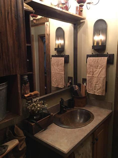 primitive country bathroom ideas 264 best primitive bathroom images on prim