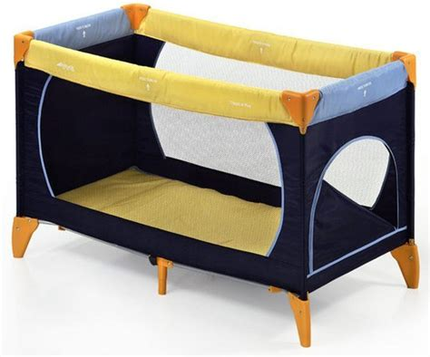 Hauck  Reisebett Dream´n Play Plus  Yellow Blue Navy