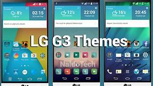 Best Themes For LG G3 (Homescreen & Launcher)