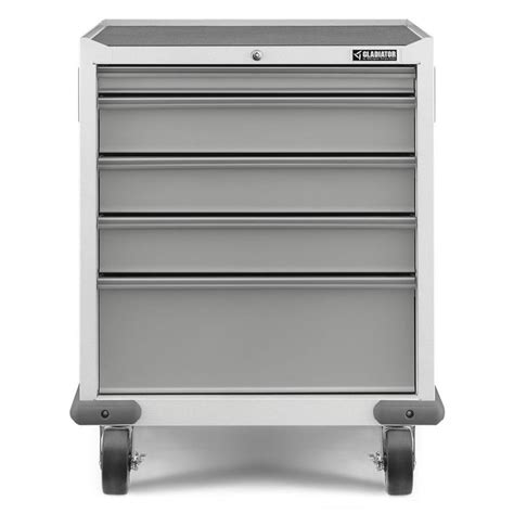 shop gladiator 34 5 in x 28 in 5 drawer steel tool chest