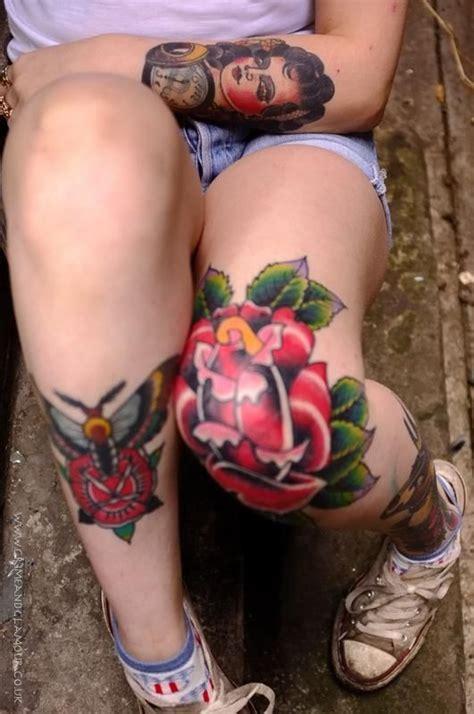 tatuagem feminina braco perna flor tatuagens