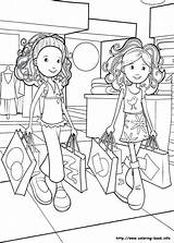 Grocery Drawing Coloring Pages Shopping Getdrawings sketch template