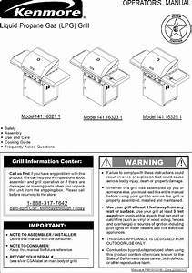 Kenmore 141163211 User Manual Lpg Grill Manuals And Guides