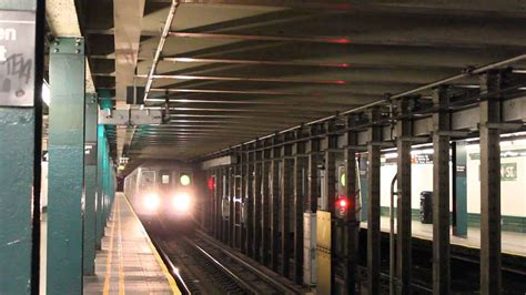 mta nyc subway ra  trains  bergen street youtube